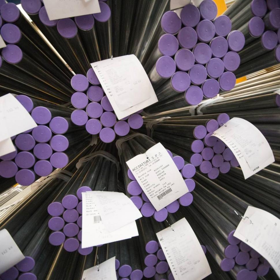 Herstellung von Stahlrohren