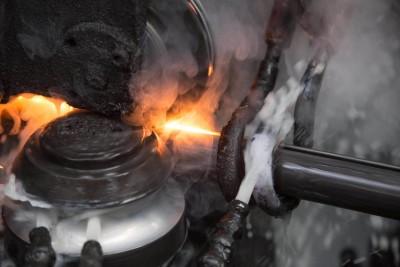 Bearbeitung von Stahlrohren